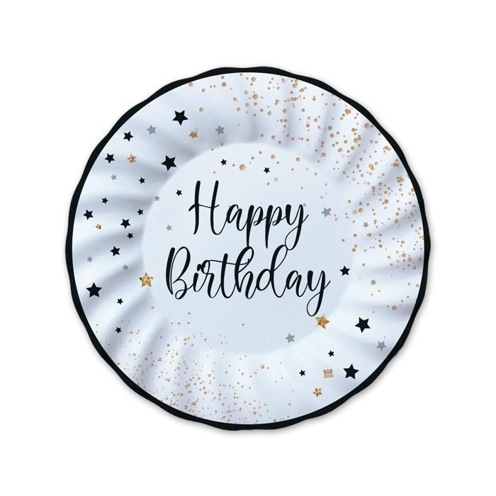 COORDINATO HAPPY BIRTHDAY NERO