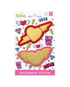 SET TAGLIAPASTA LOVE PZ.2