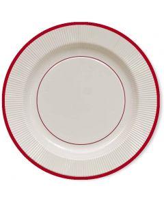 PIATTI CLASSIC RED PZ.8