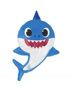 PALLONCINO MYLAR SUPERSHAPE DADDY SHARK