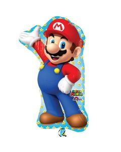 PALLONCINO MYLAR SUPERSHAPE SUPER MARIO
