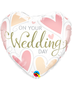 PALLONCINO MYLAR WEDDING DAY