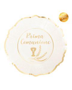 PIATTI PRIMA COMUNIONE PZ.8