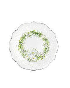 PIATTINI WEDDING IN GREEN PZ.8