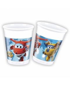 BICCHIERE SUPER WINGS PZ.8