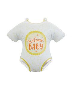 PALLONCINO MYLAR SUPERSHAPE TUTINA WELCOME BABY