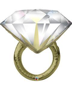 PALLONCINO MYLAR SUPERSHAPE ANELLO WEDDING