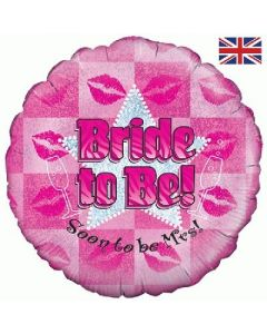 PALLONCINO MYLAR BRIDE TO BE!