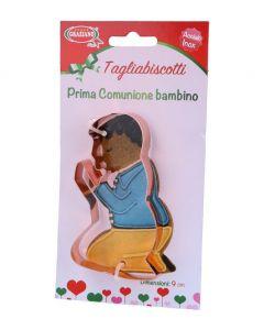 TAGLIABISCOTTI PRIMA COMUNIONE BAMBINO PZ.1