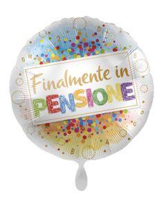 """PALLONCINO MYLAR 18"""" FINALMENTE IN PENSIONE!"""