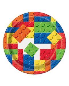 PIATTINI BLOCKS PARTY(LEGO) PZ.8