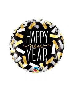 PALLONCINO MYLAR HAPPY NEW YEAR