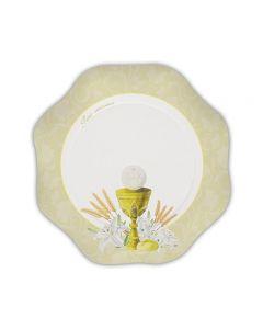PIATTINO COMUNIONE IVORY PZ. 10