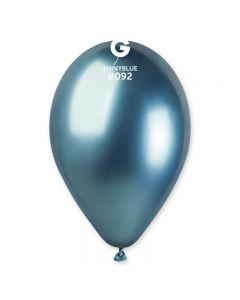 "PALLONCINI 13"" SHINY BLUE PZ.50"