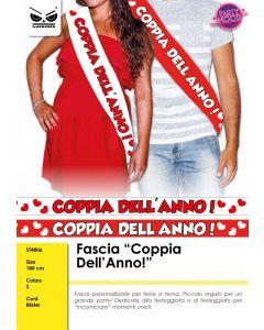 FASCIA IN TESSUTO COPPIA DELL'ANNO PZ.1