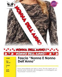 FASCIA IN TESSUTO NONNI DELL'ANNO PZ.1