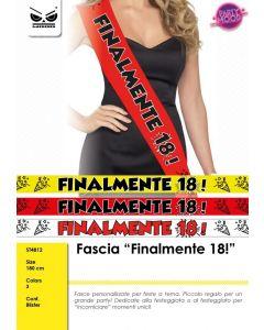 FASCIA IN TESSUTO FINALMENTE 18 PZ.1