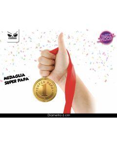 MEDAGLIA SUPER PAPA'