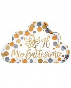 PALLONCINO MYLAR BATTESIMO
