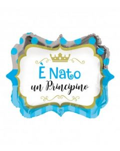 PALLONCINO MYLAR E' NATO UN PRINCIPINO